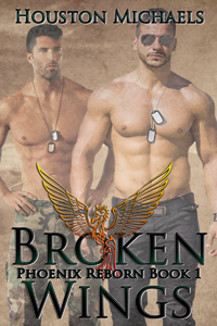 Release Day Duo Review:  Broken Wings (Phoenix Reborn #1) by Houston Michaels